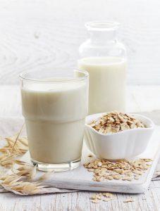Milch und Hafer